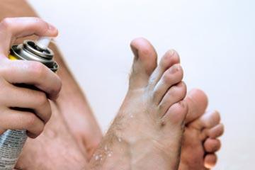 Трещины на пальцах ног
