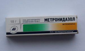 Метронидазол используют в форме геля и таблеток
