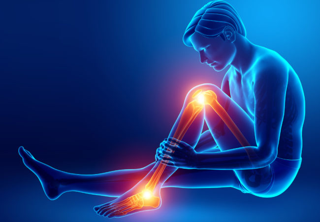Почему горят ноги ниже колен?