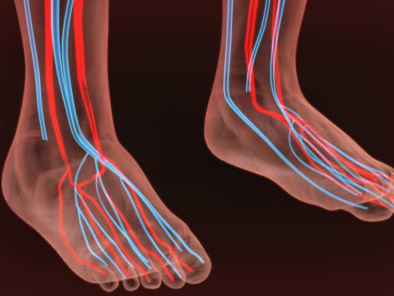 Почему немеют ступни ног